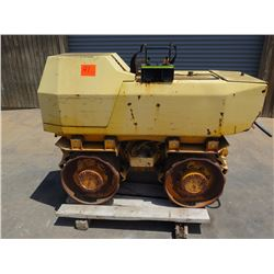 06 Rammax P33/24HHMR Walk-Behind Trench Roller w/Remote Control