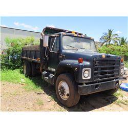 1984 International Dump Truck (Lic. 285 TSF)