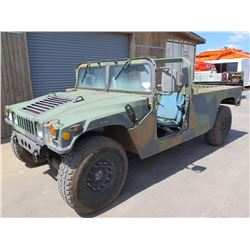 87 Military Humvee 1 1/4 Ton 4X4 Truck Runs and Drives