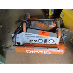 Ridgid Mini Wheelbarrow Compressor