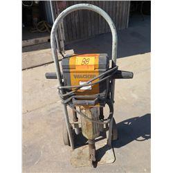 Wacker Jackhammer on Cart w/Bits