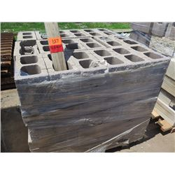 """Misc. Bricks (Contents of Pallet) - Approx. qty 90 (16"""" X 8"""")"""