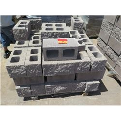 """Misc. Bricks (Contents of Pallet) - Approx. qty 53 (16"""" X 8"""")"""