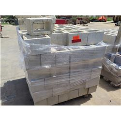 """Misc. Bricks (Contents of Pallet) - Approx qty 168 Mixed: 12""""X8"""", 16""""X4"""", 16""""X8"""""""