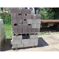 """Misc. Bricks (Contents of Pallet) - Approx. qty 68 (16"""" X 8"""")"""