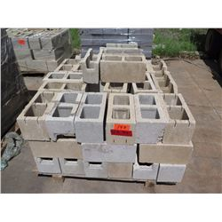 """Misc. Bricks (Contents of Pallet) - Approx. qty 70 (16"""" X 8"""")"""
