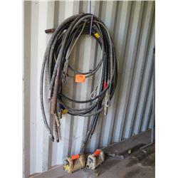 Wacker Concrete Vibration Hoses w/ Attachments