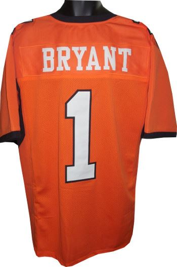 Dez Bryant Oklahoma State Cowboys Unsigned Orange Custom Jersey Xl
