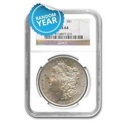 Common Date $1 Morgan Silver Dollar MS64