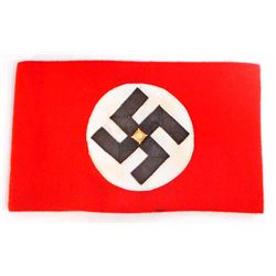 GERMAN NAZI NSDAP POLITICAL LEADER SWASTIKA ARM BAND
