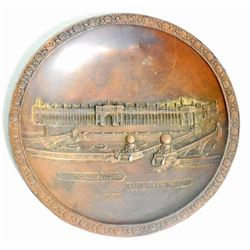 1904 WORLDS FAIR SOUVENIR TIP TRAY