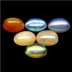 LOT OF 11.36 CTS OF MULTICOLOR ETHIOPIAN OPALS