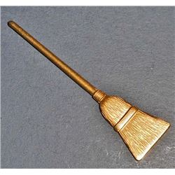 VINTAGE BRASS BROOM FINDING
