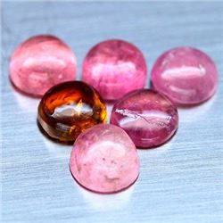LOT OF 7.80 CTS OF FANCY COLOR NIGERIAN TOURMALINES