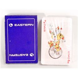 VINTAGE DECK OF EASTERN AIRLINES PLAYING CARDS - UNOPENED