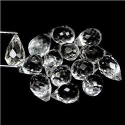 LOT OF 15.45 CTS OF WHITE BRAZILIAN TOPAZ