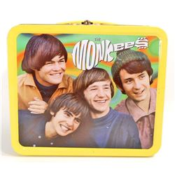 VINTAGE THE MONKEES TIN LUNCH BOX