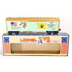 VINTAGE 1960S LIONEL SPIRIT OF 76 TRAIN CAR - 0 SCALE