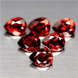 LOT OF 6.09 CTS OF RED MOZAMBIQUE GARNETS