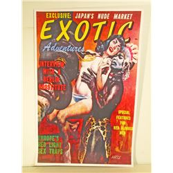 EXOTIC MOVIE POSTER PRINT