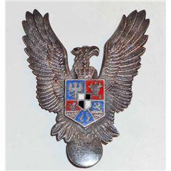 GERMAN NAZI ROMANIAN LUFTWAFFE AVIATOR AXIS PILOT BADGE