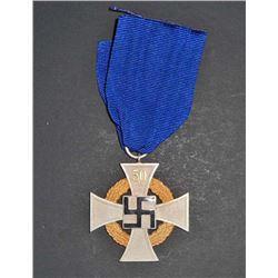 GERMAN NAZI NSDAP 50 YEAR FAITHFUL SERVICE CROSS