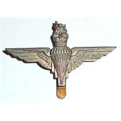 BRITISH AIRBORNE PARATROOPER BERET CAP BADGE