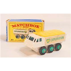 VINTAGE 1960S MATCHBOX ALVIS STALWART NO. 61 TRUCK IN ORIG. BOX