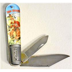 BARLOW RED RYDER NOVELTY POCKET KNIFE