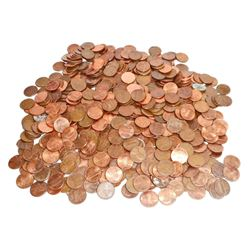 LARGE LOT OF UNSEARCHED PENNIES