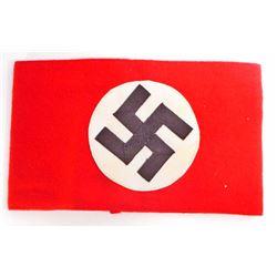 NAZI GERMAN POLITICAL LEADER NSDAP SWASTIKA ARM BAND