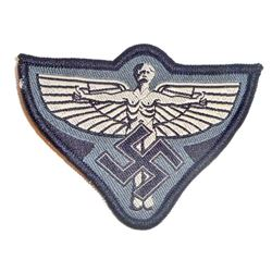 NAZI GERMAN NSFK GLIDER KORPS ENLISTED MANS BREAST WINGED MAN