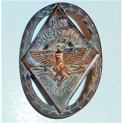 NAZI GERMAN NSFK GLIDER KORPS KUSTENFLUG BADGE