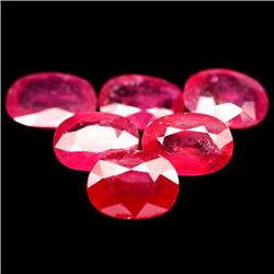 LOT OF 15.72 CTS OF RED MADAGASCAR RUBIES
