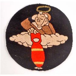 USAAF ARMY AIR FORCE 355TH BOMB SQUADRON FLIGHT JACKET PATCH