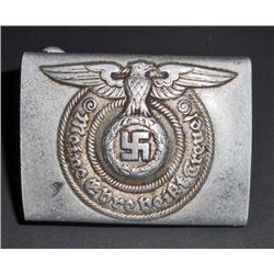 NAZI GERMAN WAFFEN SS ENLISTED MANS BELT BUCKLE