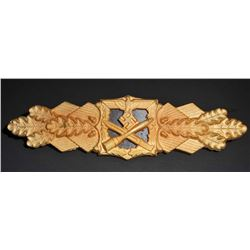 NAZI GERMAN ARMY GOLD CLOSE COMBAT CLASP