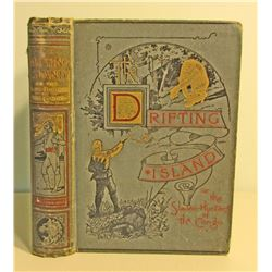 "1898 ""THE DRIFTING ISLAND"" HARDCOVER BOOK"