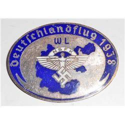 NAZI GERMAN NSFK DEUTSCHLANDFLUG GLIDER KORPS BADGE