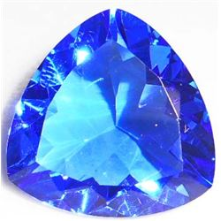 26.0 CT TRILLION CUT SWISS BLUE QUARTZ