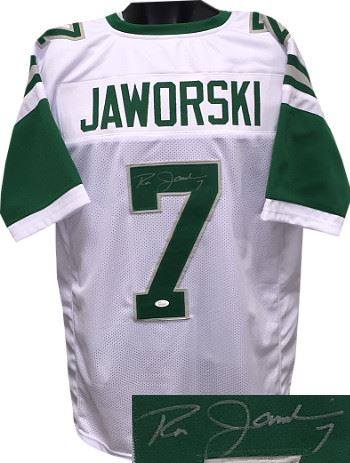 best website 12f8a 1616a Ron Jaworski Philadelphia Eagles Signed White TB Prostyle ...