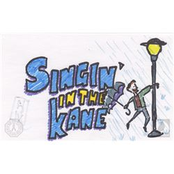 """The 100 """"Singin' In The Kane"""" Character Doodle"""