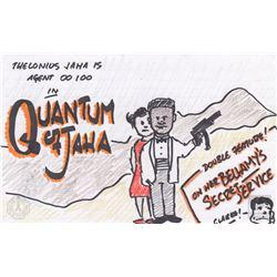 "The 100 ""Quantum of Jaha"" Character Doodle"