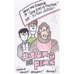 """The 100 """"Pauna in Pink"""" Character Doodle"""