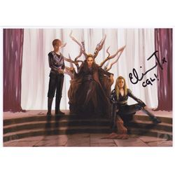 The 100 Clarke, Lexa & Aden Art PapuurCat Photo Print Signed by Eliza Taylor