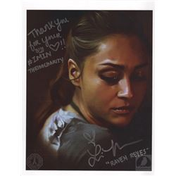 The 100 Raven Reyes Art Print Signed by Lindsey Morgan