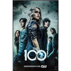 The 100 Season One Framed Poster