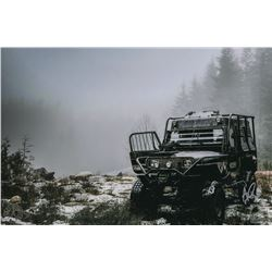 "The 100 Behind-the-Scenes Aaron Ginsburg ""Rover in the Snow"" Photo"