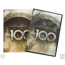 The 100: The Complete Second Season 4-Disc DVD Set Signed by 6 Cast Members