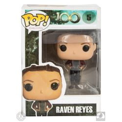 The 100 Raven Custom-Made Pop! Figure Signed by Lindsey Morgan
